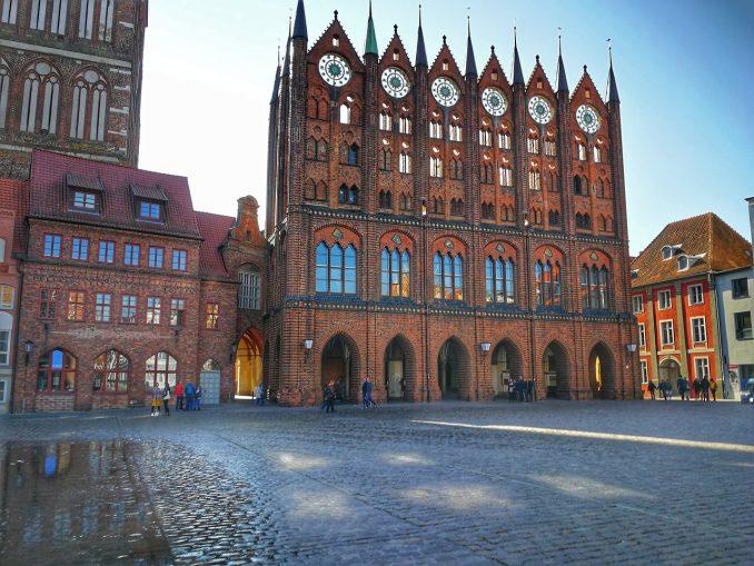 Marktplein Stadhuis Stralsund